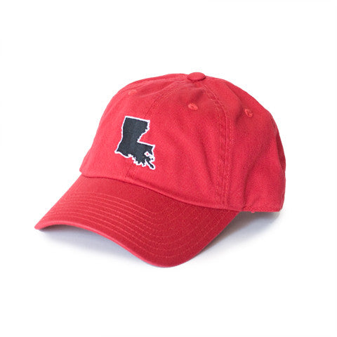Louisiana Lafayette Gameday Hat Red