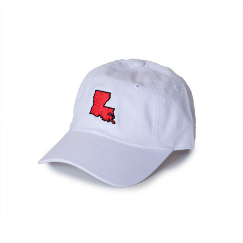 Louisiana Lafayette Gameday Hat White