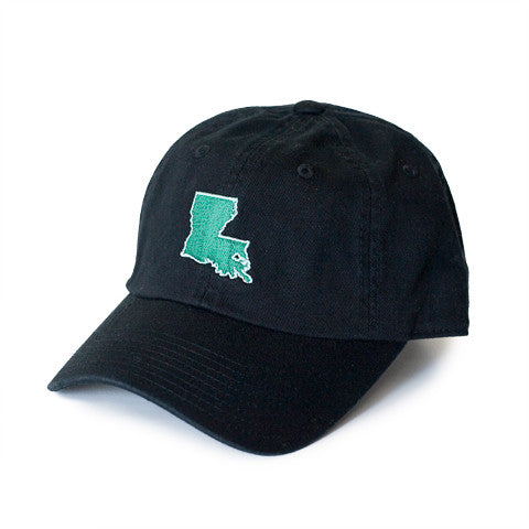 Louisiana New Orleans Gameday Hat Black