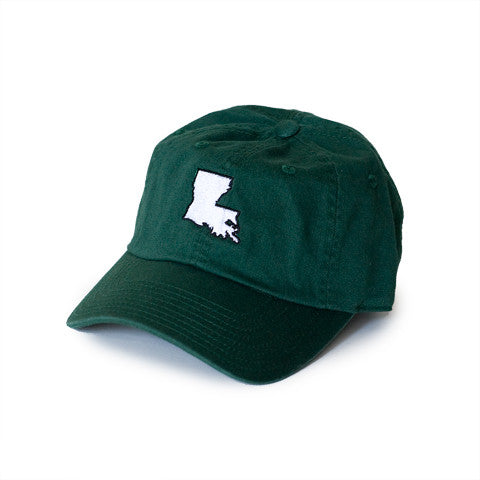 Louisiana New Orleans Gameday Hat Green