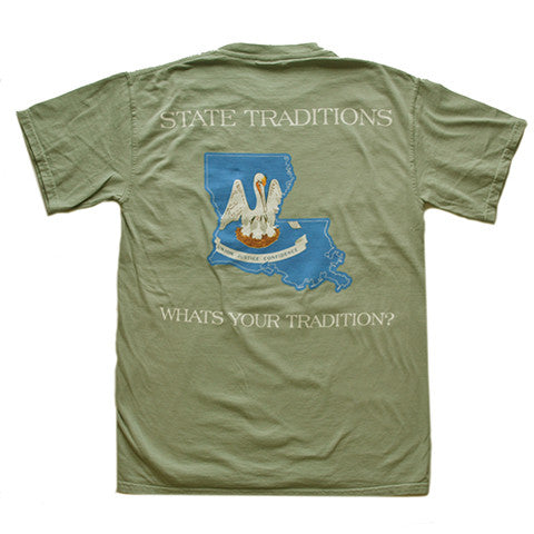 Louisiana Traditional T-Shirt Bayou