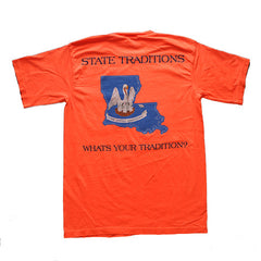 Louisiana Traditional T-Shirt Bright Salmon