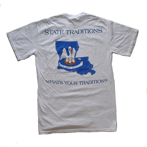Louisiana Traditional T-Shirt White
