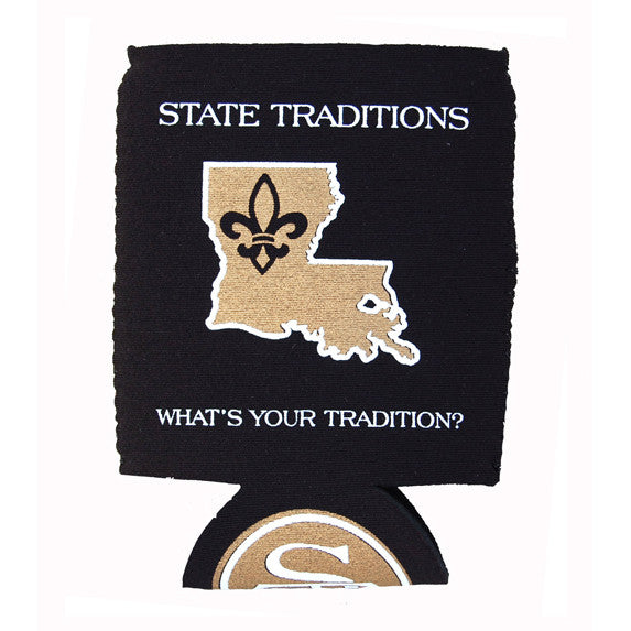 Louisiana Who Dat Koozie
