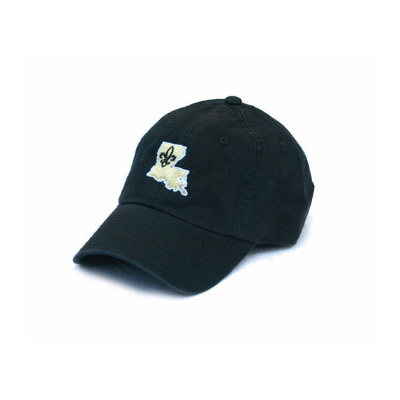 Louisiana Who Dat Hat Black