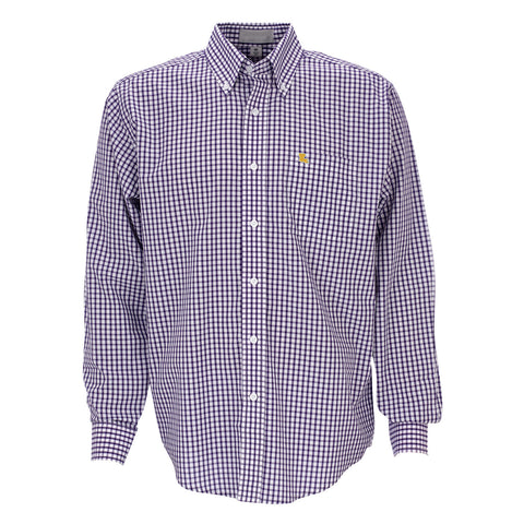 Louisiana Baton Rouge Gameday Pennington Woven Shirt Purple