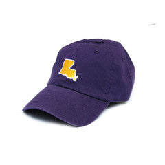 Louisiana Baton Rouge Gameday Hat Purple