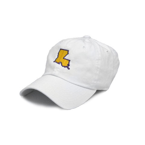 Louisiana Baton Rouge Gameday Hat White