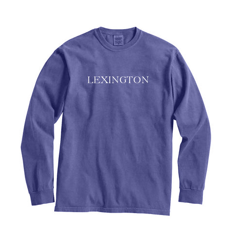 Kentucky Lexington City Series Long Sleeve T-Shirt
