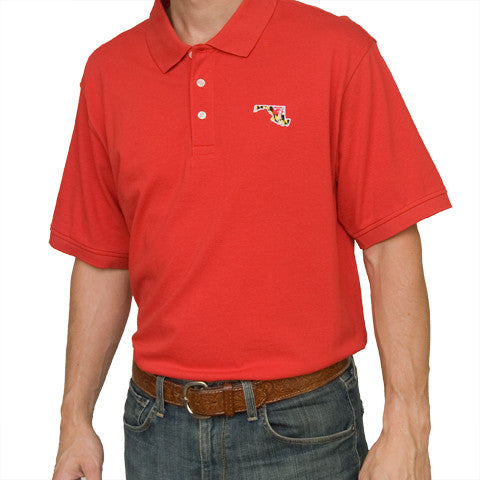 Maryland Traditional Polo Red