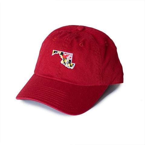 Maryland Traditional Hat Red