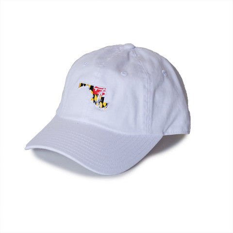 Maryland Traditional Hat White