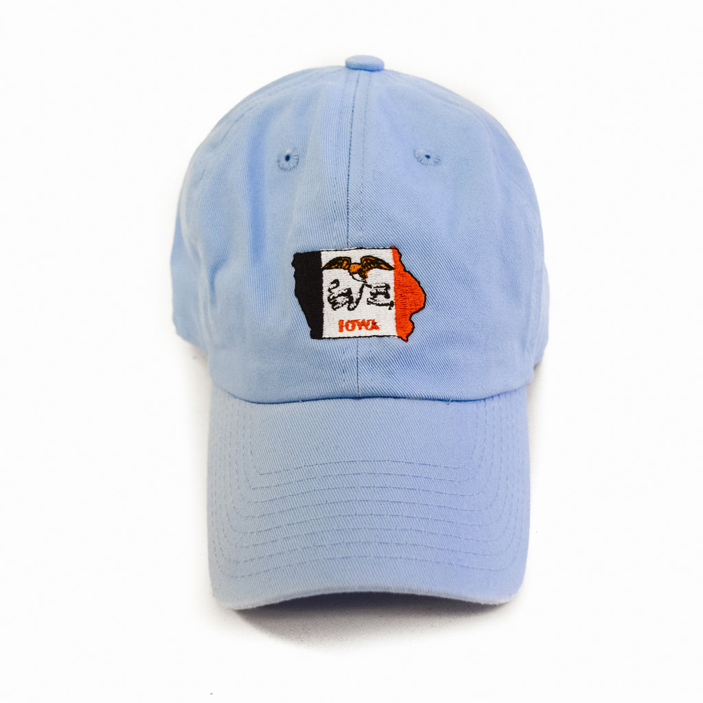 Iowa Traditional Hat Light Blue