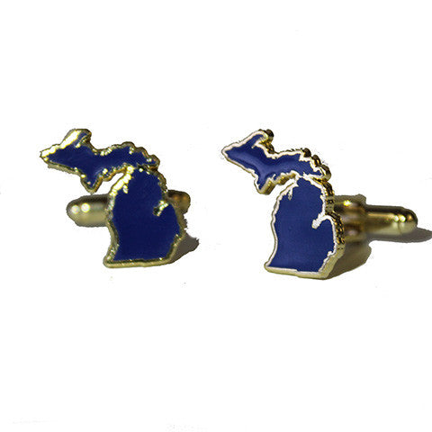 Michigan Ann Arbor Gameday Cuff Links