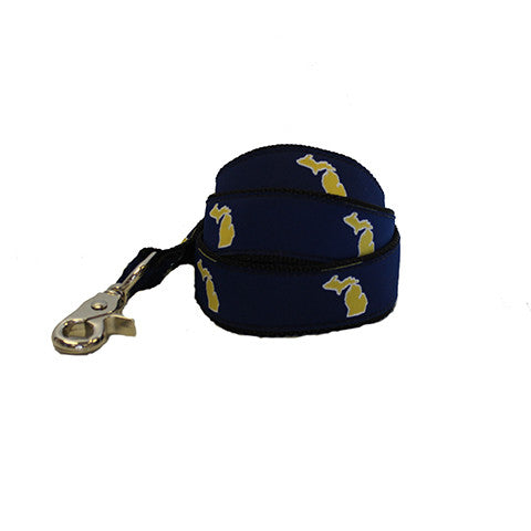 Michigan Ann Arbor Gameday Dog Leash/Lead