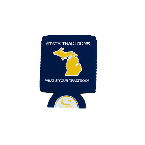 Michigan Ann Arbor Gameday Koozie