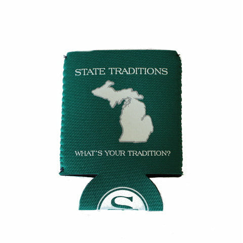 Michigan East Lansing Gameday Koozie