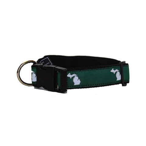 Michigan East Lansing Gameday Dog Collar