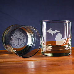 Michigan Gameday Glassware