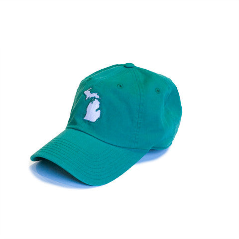 Michigan East Lansing Gameday Hat Green