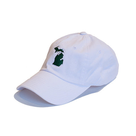 Michigan East Lansing Gameday Hat White