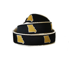 Missouri Columbia Gameday Youth Belt