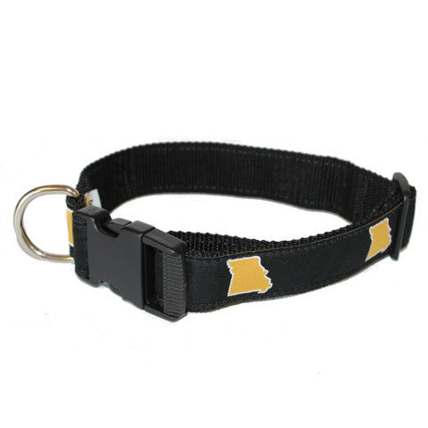 Missouri Columbia Gameday Dog Collar