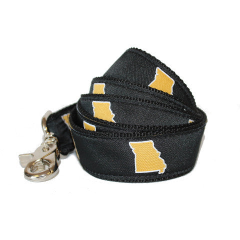 Missouri Columbia Gameday Dog Leash/Lead