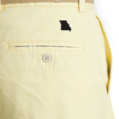 Missouri Columbia Gameday Coastline Shorts Yellow