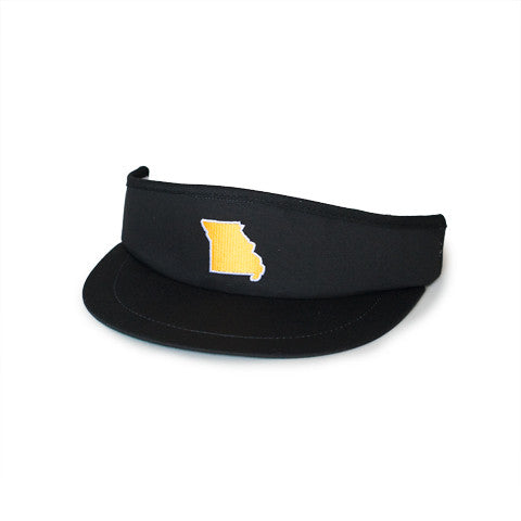 Missouri Columbia Gameday Golf Visor Black