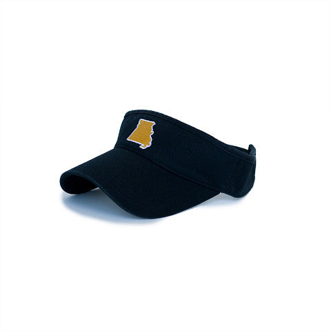Missouri Columbia Gameday Hat Visor Black