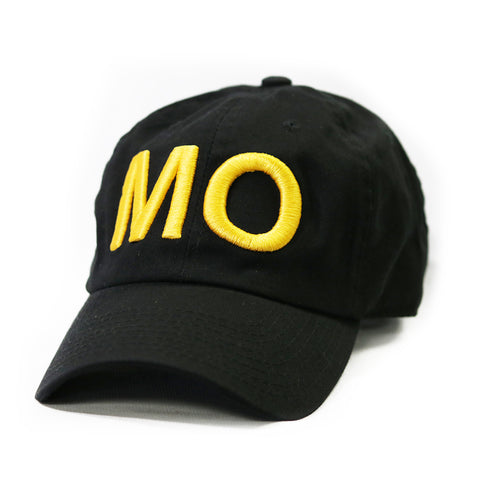 "Missouri  ""MO"" State Letters Hat"