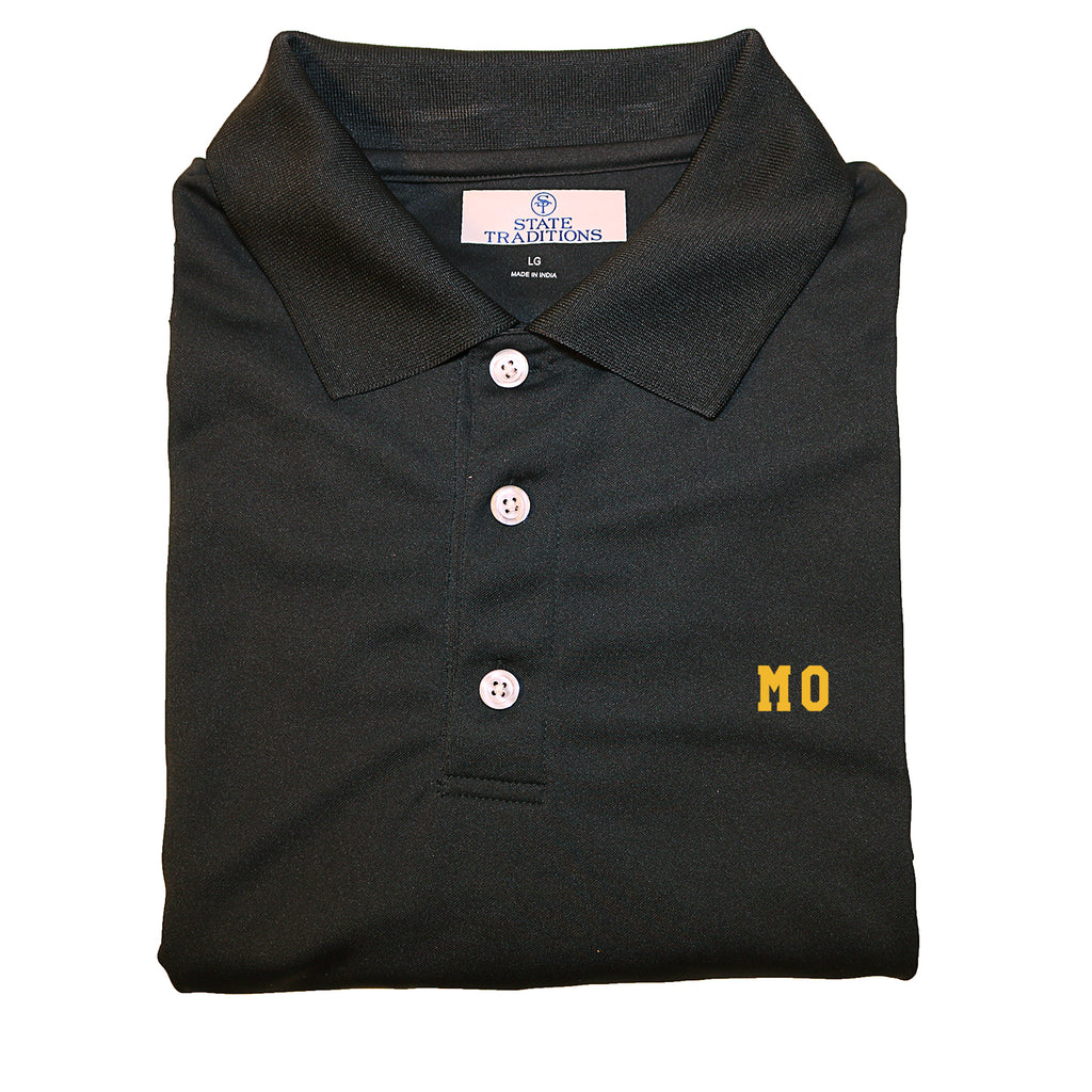 "Missouri ""MO"" State Letters Performance Polo"