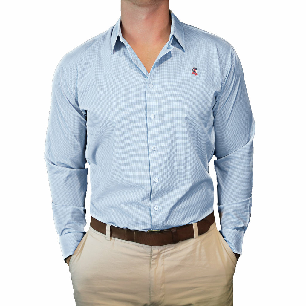 "Mississippi Traditional ""Williams"" Performance Dress Shirt"