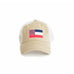 State of Mississippi Flag Khaki Trucker Hat Front View