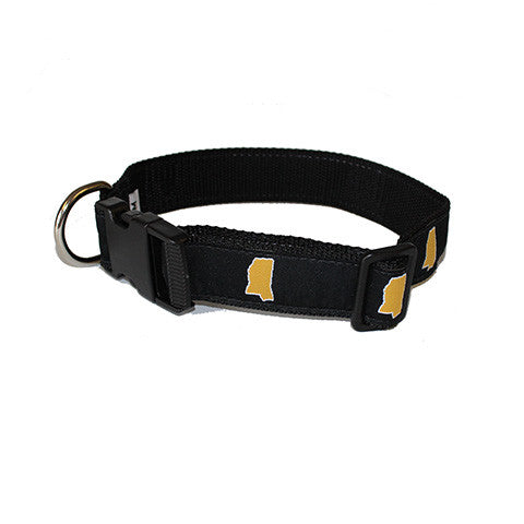 Mississippi Hattiesburg Gameday Dog Collar