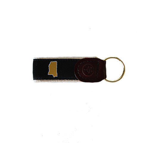 Mississippi Hattiesburg Gameday Key Fob