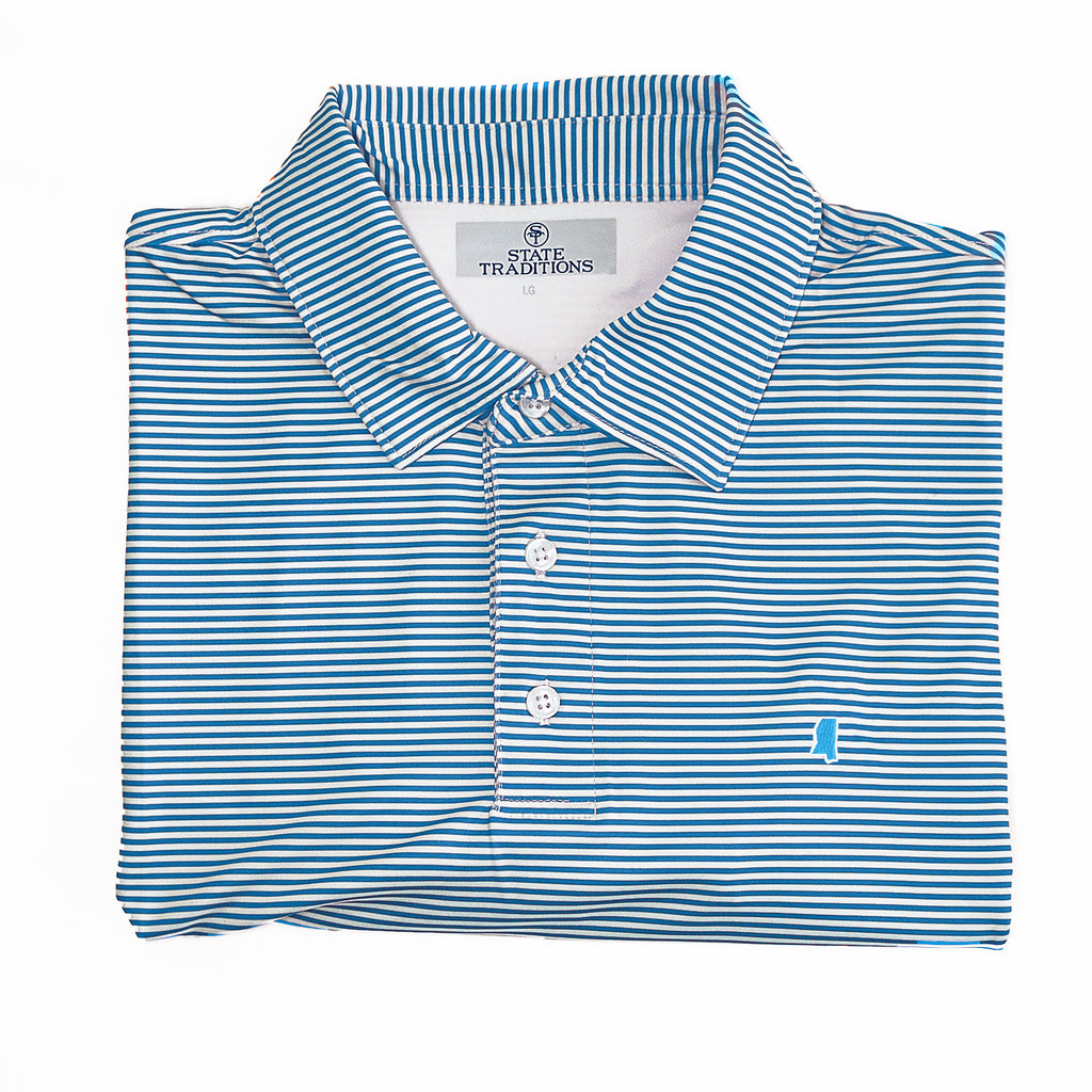 "Mississippi ""Tips"" Performance Polo"