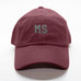 """MS"" Mississippi Gameday Letterman Hat"