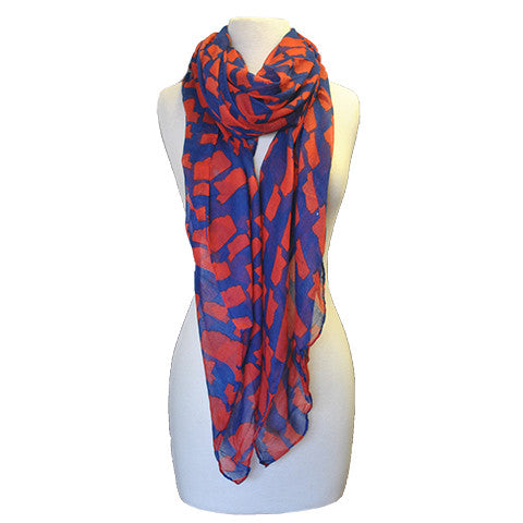 Mississippi Gameday Scarf Blue