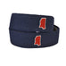 Oxford Mississippi Belt, MS Belt, OXFD BELT, MS Gameday Belt, Khaki Belt, Hotty Toddy, Ole Miss, Gameday, Country Club Prep, Mississippi Pride