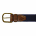 Mississippi Oxford Gameday Embroidered Belt Khaki