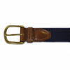 Mississippi Oxford Gameday Embroidered Belt Navy
