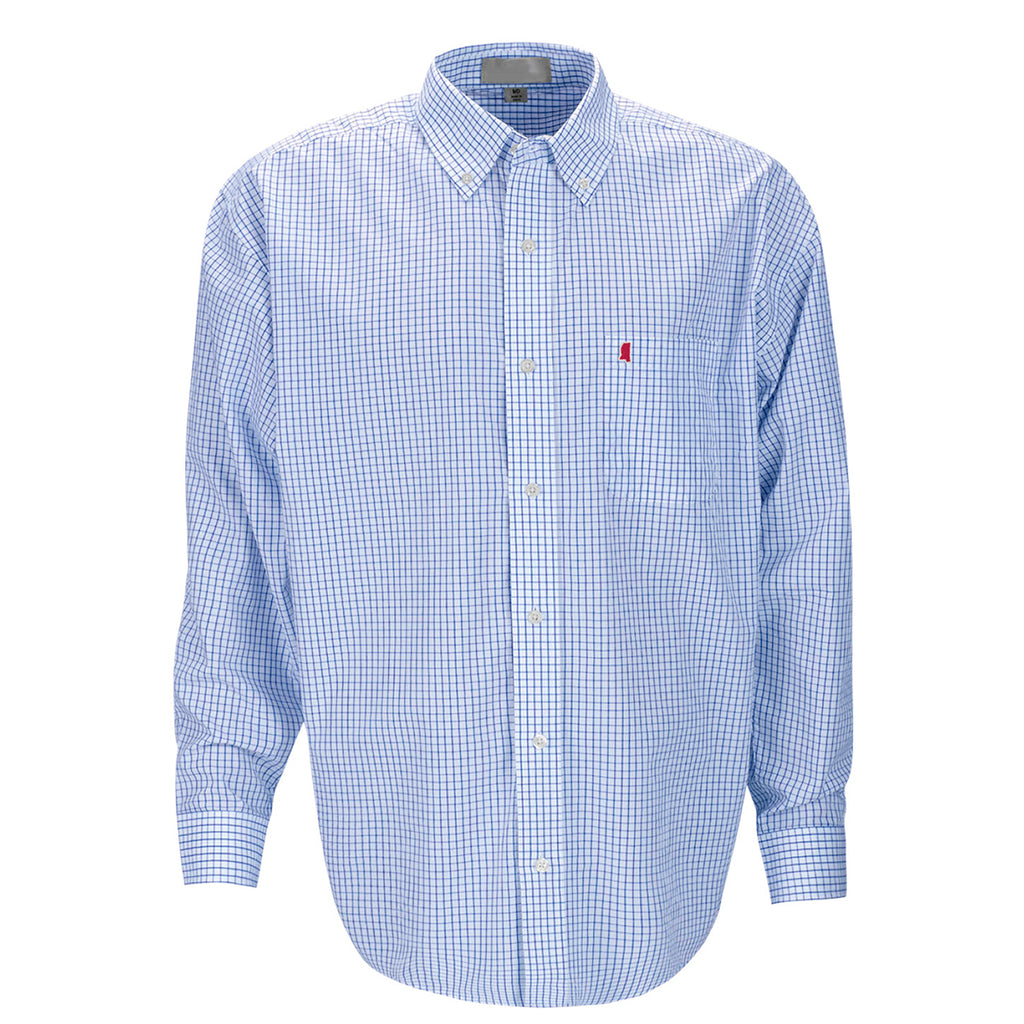 Mississippi Oxford Gameday McDowell Woven Blue