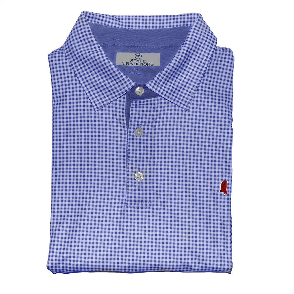 Mississippi Oxford Gameday Perry Polo