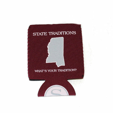 Mississippi Starkville Gameday Koozie