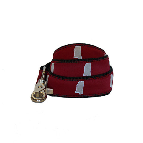 Mississippi Starkville Gameday Dog Leash/Lead