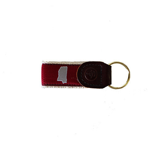 Mississippi Starkville Gameday Key Fob