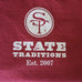 Mississippi Starkville Gameday Long Sleeve Maroon T-Shirt