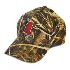 Mississippi Starkville Gameday Hat Max 5 Camo